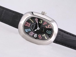 Fake Perfect Franck Muller Galet with Black Dial and Strap-Lady Size AAA Watches [F5I9]