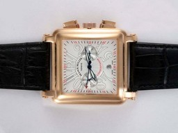 Fake Popular Franck Muller Conquistador Chronograph Automatic Gold Case AAA Watches [N7R5]