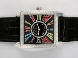 Fake Quintessential Franck Muller Master Square Diamond Bezel AAA Watches [P3P8]
