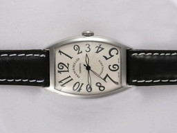 Fake Vintage Franck Muller Casablanca 2892 Movement with White Dial AAA Watches [Q2L2]