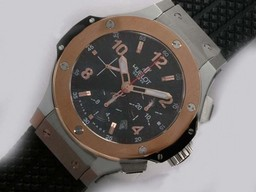 Fake fresca Hublot Big Bang Cronógrafo Valjoux 7750 Asia Movimiento Two Tone AAA relojes [ E4R9 ]