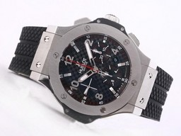 Fake Cool Hublot Big Bang Chronograph Asia Valjoux 7750 Movement AAA Watches [E1O8]