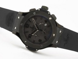 Fake Fancy Hublot Big Bang All Black Limited Edition Working Chr