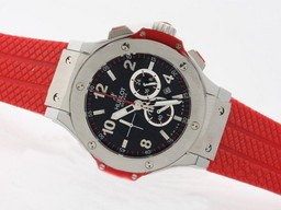 Fake Jobb Hublot Big Bang Red Working Chronograph - samme struktur som 7750 - H AAA Klokker [ F8T2 ]