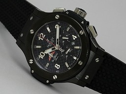 Fake Great Hublot Big Bang Tuiga 1909 Working Chronograph PVD Case-Same Structure As 7750 Movement AAA Watches [H1F7]