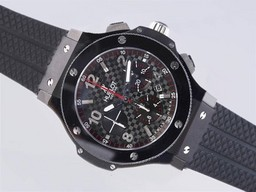 Fake Quintessential Hublot Big Bang Chronograph Asia Valjoux 7750 Movement PVD Case AAA Watches [W7A9]