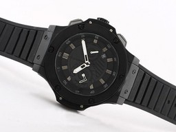 Fake Quintessential Hublot Big Bang King Working Chronograph PVD Case with Black Dial AAA Watches [I1J7]