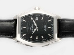 Fake Cool IWC Da Vinci Automatic with Black Dial AAA Watches [V9U2]
