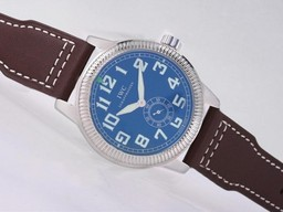 Fake Fancy IWC Saint Exupery Automatic with Blue Dial-AR Coating AAA Watches [F2A4]