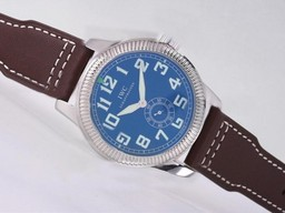 Fake Fancy IWC Saint Exupery Automatic with Blue Dial-AR Coating AAA Watches [Q5E8]
