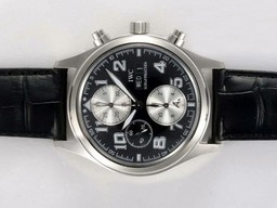 Fake Fancy IWC Saint Exupery Chronograph Movement AAA Watches [I7H1]