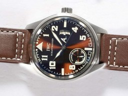Fake Popular IWC Saint Exupery Power Reserve Working Automatic AR Coating AAA Watches [N3K4]
