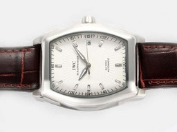 Fake Quintessential IWC Da Vinci Automatic with White Dial AAA Watches [A9U5]