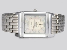 Fake Fancy Jaeger-LeCoultre Reverso with White Dial AAA Watches [W3R2]