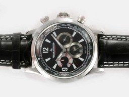 Fake Fancy Jaeger-Lecoultre Master Compressor Geographic Chronograph Automatic AAA Watches [A4V7]