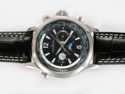 Fake Gorgeous Jaeger-Lecoultre Master Compressor Geographic Chronograph Automatic AAA Watches [G9G8]