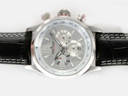 Fake Gorgeous Jaeger-Lecoultre Master Compressor Geographic Chronograph Automatic AAA Watches [X7P5]