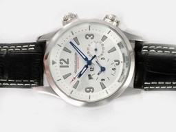 Fake Gorgeous Jaeger-Lecoultre Master Compressor Geographic Automatic AAA Watches [N1M2]