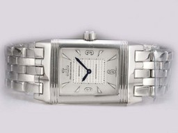 Fake Great Jaeger-LeCoultre Reverso with White Dial AAA Watches [Q1R5]