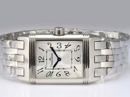 Fake Modern Jaeger-LeCoultre Reverso with White Dial AAA Watches [F1O7]
