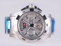 Fake Cool Longines Hydroconquest V Chronograph Automatic with White Dial AAA Watches [V2T9]