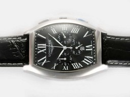 Fake Cool Longines Master Collection Automatic with White Dial AAA Watches [R8B8]