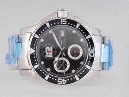 Fake Fancy Longines Hydroconquest V Chronograph Automatic with Gray Dial AAA Watches [L6O1]
