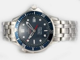 Fake Cool Omega Seamaster 007 James Bond With Blue Dial-2008 Updated Version AAA Watches [T7I4]