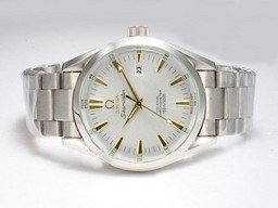 Fake Cool Omega Seamaster Aqua Terra Big Size Automatic Gold Markings AAA Watches [J5C8]