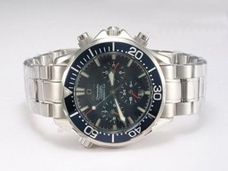 Fake Gorgeous Omega Seamaster Americas Cup Chronograph Automatic with Blue Dial AAA Watches [W2N7]