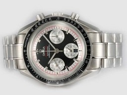 Fake Gorgeous Omega Speedmaster M-Schmacher Chronograph Movment AAA Watches [T1W2]
