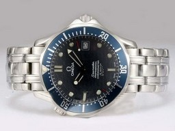 Fake Great Omega Seamaster 007 James Bond Automatic -Blue AAA Watches [Q6B7]