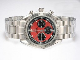 Fake Perfect Omega Speedmaster Chronometer Working Chronograph Legend AAA Watches [W7K7]