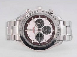Perfect Fake Omega Speedmaster M- Schmacher Travail Chronographe -Même châssis AS 7750 Mouvement AAA Montres [ W4B4 ]