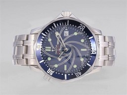 Fake Vintage Omega Seamaster 007 (2006) con Blue Dial-mismo Chasis Como Relojes AAA [ S7U9 ]