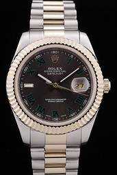 Fake Cool Rolex Datejust AAA kellot [ N9W1 ]