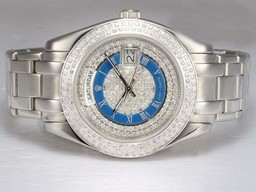 Fake Fancy Rolex Masterpiece Automaattinen Diamond Kehys ja Soit