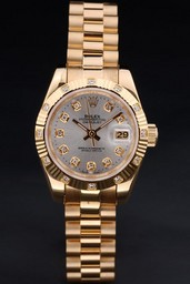 Fake Modern Rolex Datejust AAA relojes [ N6O4 ]