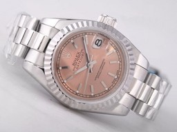 Fake Rolex Datejust Movimiento Moderno Con Champagne Dial Relojes AAA [ O6O7 ]