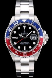 Falso Vintage Rolex GMT Master II Orologio AAA [ T4F4 ]