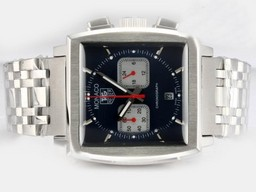 Fake Cool Tag Heuer Carrera Chronograph Automatic Black Dial and Bezel AAA Watches [G3V5]
