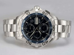 Fake Fancy Tag Heuer Aquaracer Chrono Day-Date Chronograph Automatic AAA Watches [B7O2]