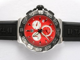 Fake Fancy Tag Heuer Carrera Chronograph Automatic with Black Dial and Bezel AAA Watches [D7B4]