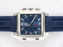 Fake Fancy Tag Heuer Monaco Sixty Nine Microtimer Digital with Blue Dial AAA Watches [I9F1]