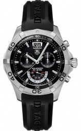 Falso Grande Tag Heuer Aquaracer Chronograph Grand- Data CAF101A.FT8011 R Orologi AAA [ E7I1 ]