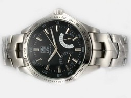Fake Great Tag Heuer Link Calibre S Automatic with Black Dial AAA Watches [F4R9]