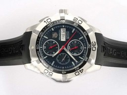 Fake Modern Tag Heuer Link 200 Meters Working Chronograph AR Coating AAA Watches [M4D1]