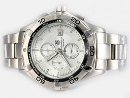 Fake Vintage Tag Heuer Grand Carrera Calibre 36 Working Chronograph with Black Dial AAA Watches [N6N1]