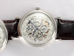Fake Great Vacheron Constantin Skeleton Perpetual Calender AAA Watches [Q5A5]