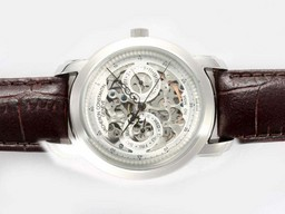 Falso Perfetto Vacheron Constantin Skeleton Chronograph Automatic AAA [ H7M1 ]